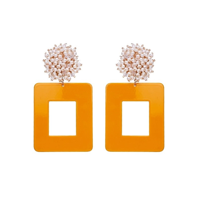 Juliece Statement Earrings