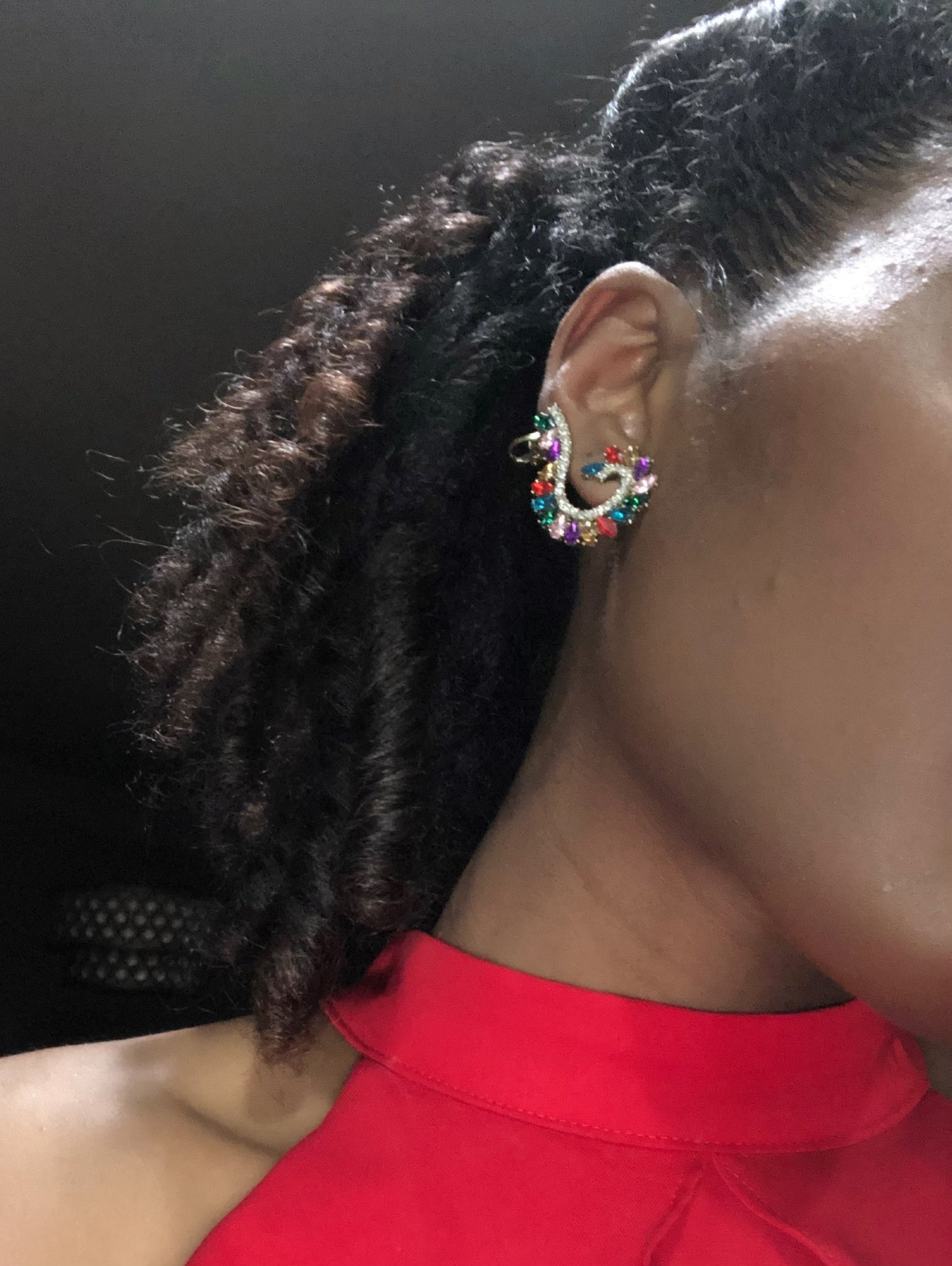 Bessie Whirl Earrings