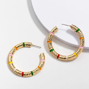 Loli Hoop Earrings