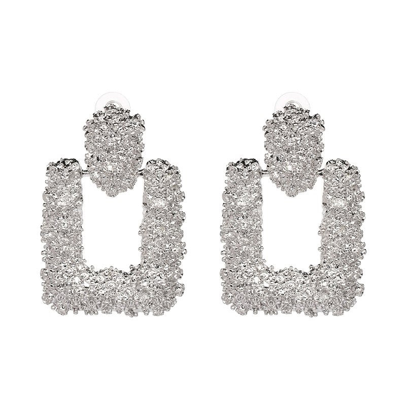 Silver Rox Steady Earrings
