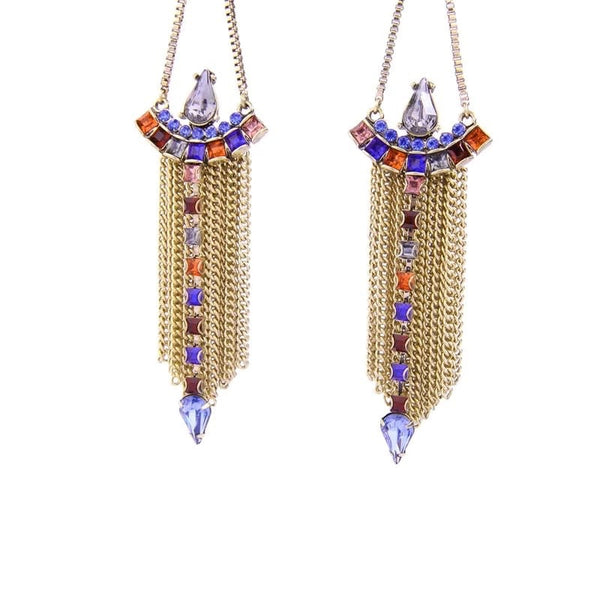 Willow Jewel Drop Earrings