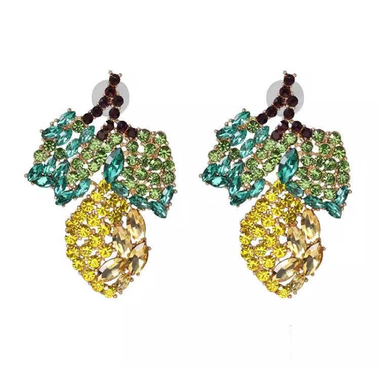 Lemonade Statement Earrings
