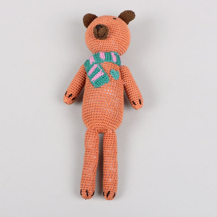 Crochet Brown Bear