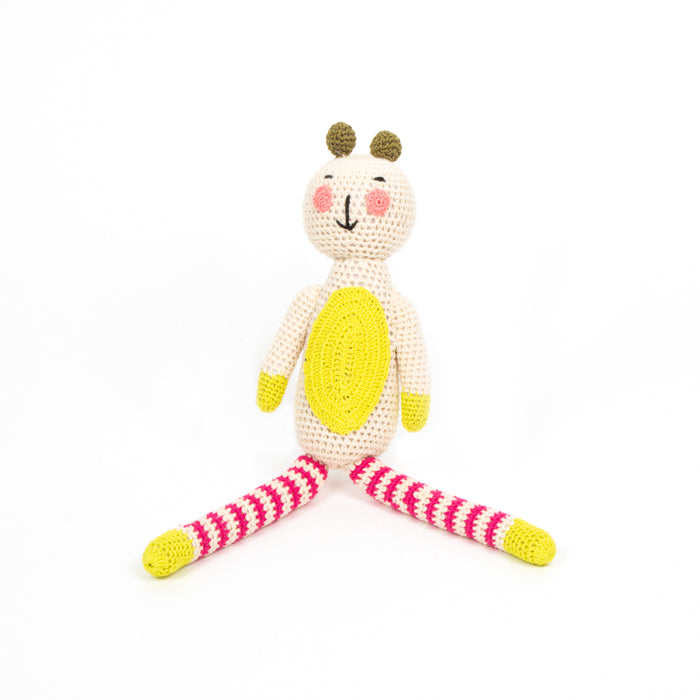 Crochet Striped Bear