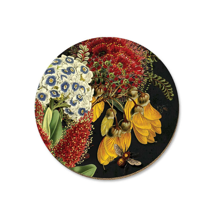 Rata and Kowhai Coaster
