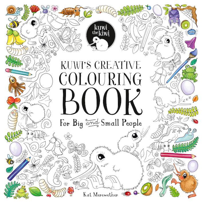 Kuwi's Colouring Book
