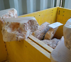 Alabaster chunks, Sculpture Supply Canada, Cindy Presant