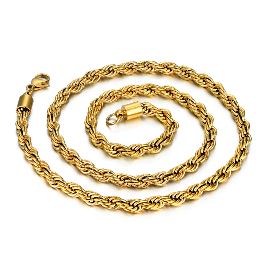 3mm-6mm Rope Chain