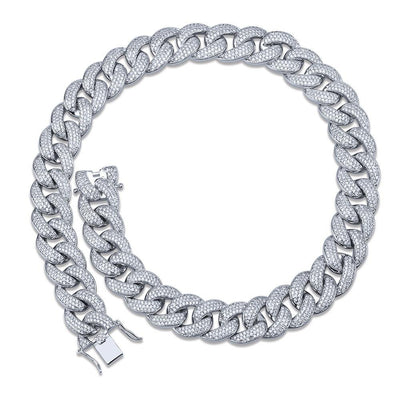 18MM Miami Prong Cuban Link