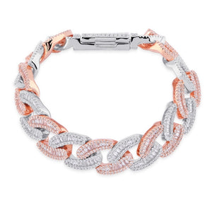 Bracciale Miami Cuban Link 14mm - Icedoutluxury