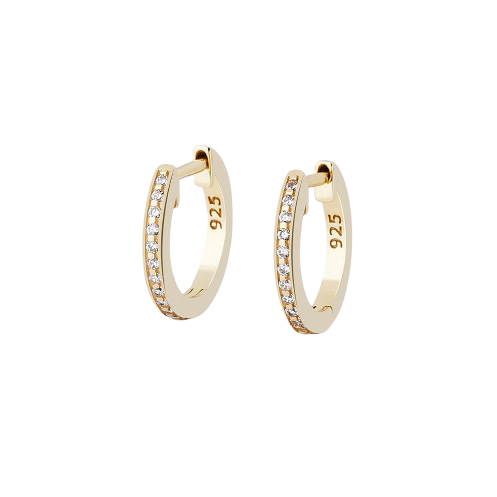 12mm Round Earrings