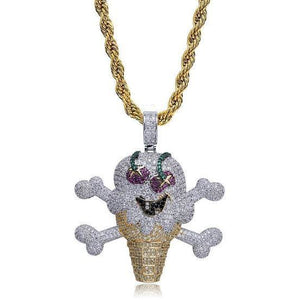 Icy Ice Cream Pendant - Icedoutluxury