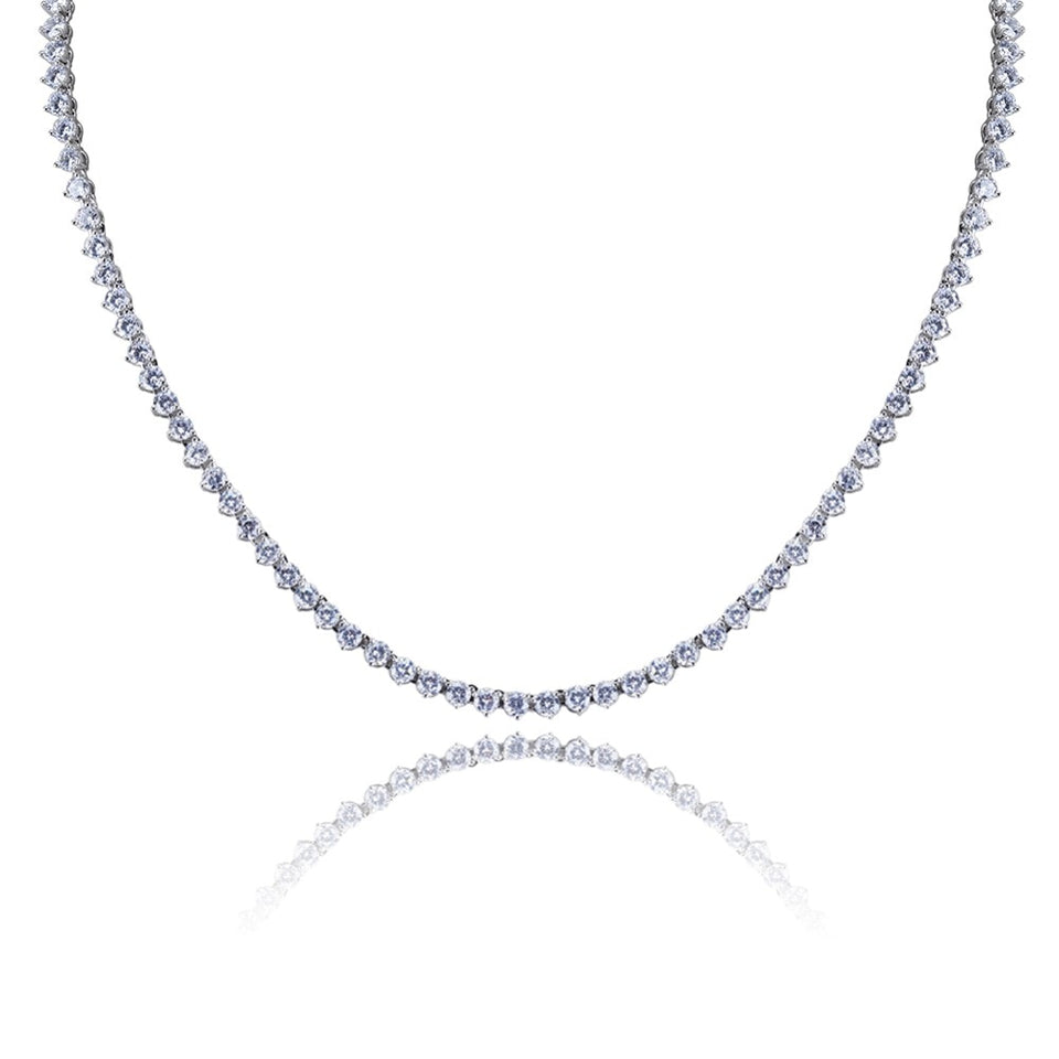 Icy Pointy Tennis Chain - Icedoutluxury