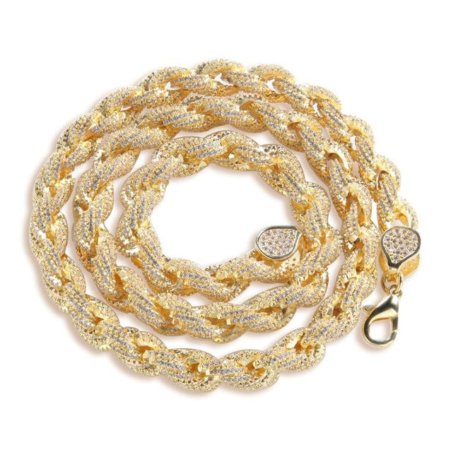 8mm Icy Rope Chain - Icedoutluxury