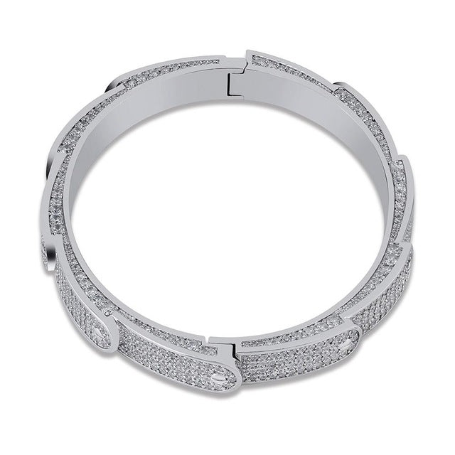Icy Layered Band Bracelet - Icedoutluxury