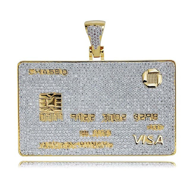 Icy Credit Card Pendant - Icedoutluxury