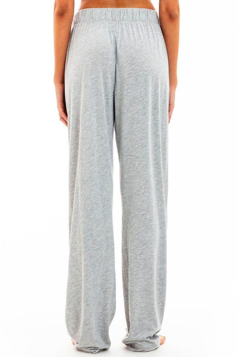 LOUNGE PANT HEATHER GREY Bottoms Eterne