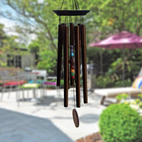 Chakra Stones Wind Chime Wind Chime Gardener's Grace