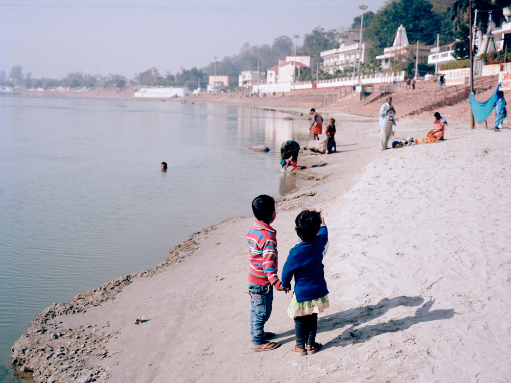 Children by the Ganges