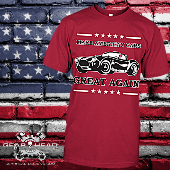 Make American Cars Great Again Cobra Tee Shirt