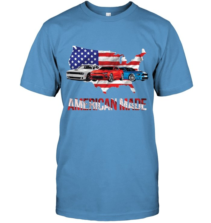 American Made Tee Shirt - GearHeadDesigns