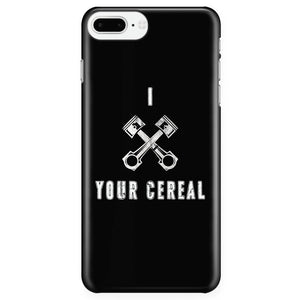 I Piston Your Cereal Phone Case - GearHeadDesigns