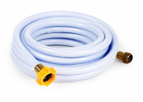 Camco 25ft TastePURE Drinking Water Hose - Lead BPA Free, Reinforced Maximum Kink Resistance 5/8