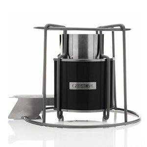 Affirm Global Wood Burning EZY Stove, Black