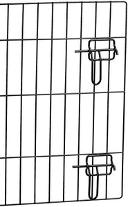 AmazonBasics Single-Door Folding Metal Dog Crate - 36 Inches