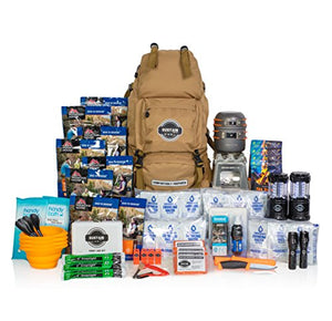 Premium Family Emergency Survival Bag/Kit – Be Equipped with 72 Hours of Disaster Preparedness Supplies for 4 People