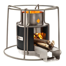 Load image into Gallery viewer, Affirm Global Wood Burning EZY Stove, Black