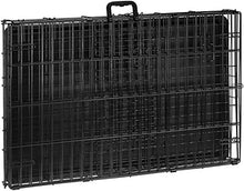 Load image into Gallery viewer, AmazonBasics Single-Door Folding Metal Dog Crate - 36 Inches