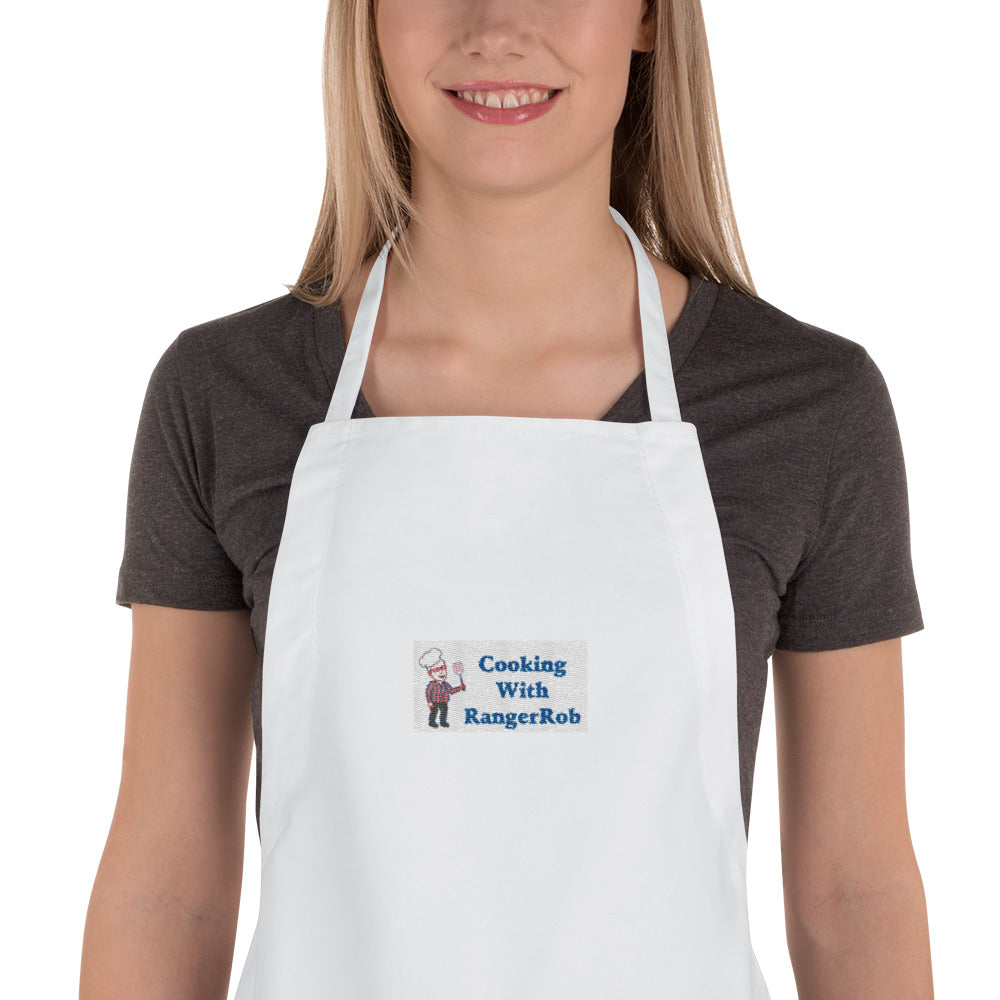 Cooking With RangerRob Embroidered Apron