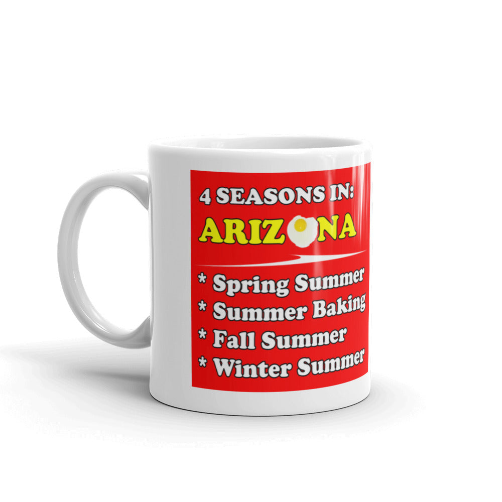 4 Seasons of Arizona Mug