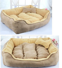 Load image into Gallery viewer, New Pet Products Cotton Pet Dog Bed for Cats or Dogs