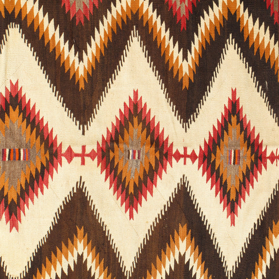 Navajo - Authentic American Indian Antique Rug