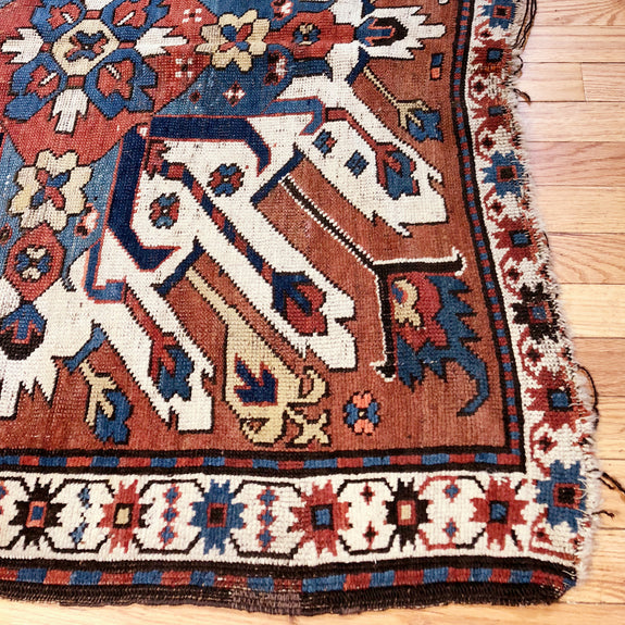 Eagel Kazak - Authentic Antique Caucasian Rug - Deal