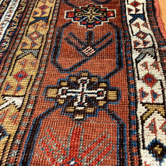 Ghashghaei - Anthentic Antique Persian Rug - Deal