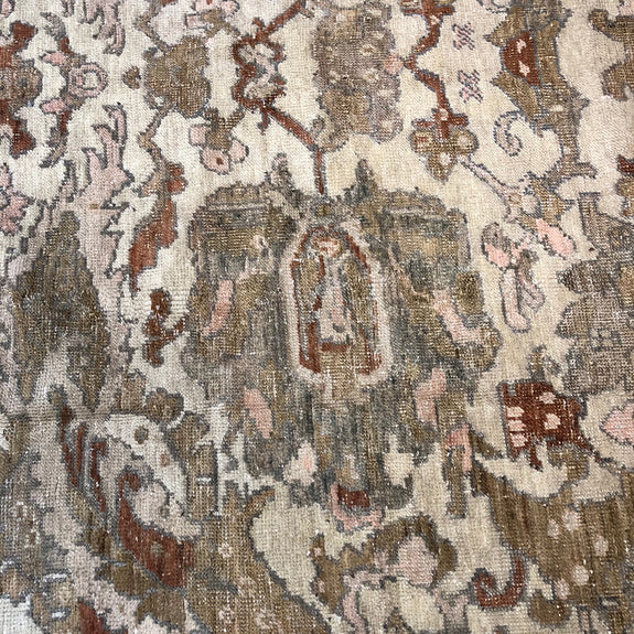 Oushak/Gordes - Authentic Antique Turkish Rug - One of a kind!