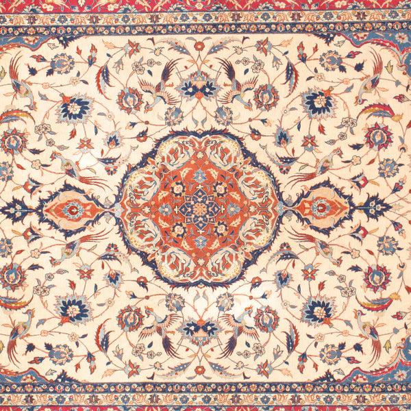 Isphahan - Authentic Antique Persian Rug - One of a kind