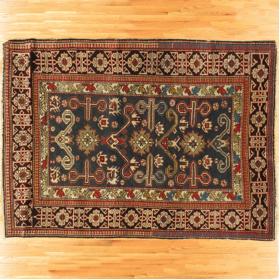 Kuba - Authentic Antique Caucasian Rug