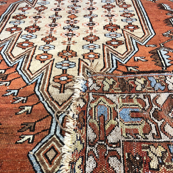 Mazlaghan - Authentic Antique Persian Rug - Deal