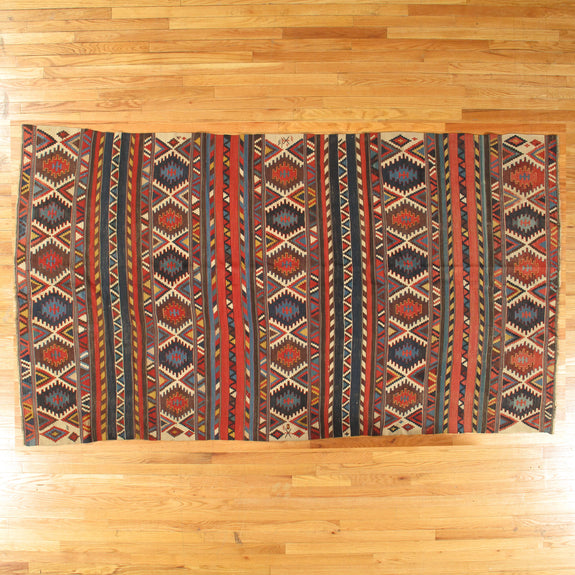 Kilim - Authentic Antique Caucasian Rug