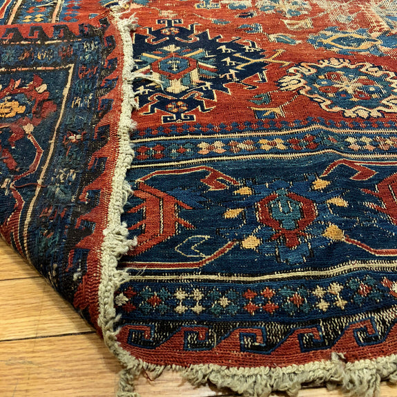 Sumak - Authentic Antique Caucasian Rug