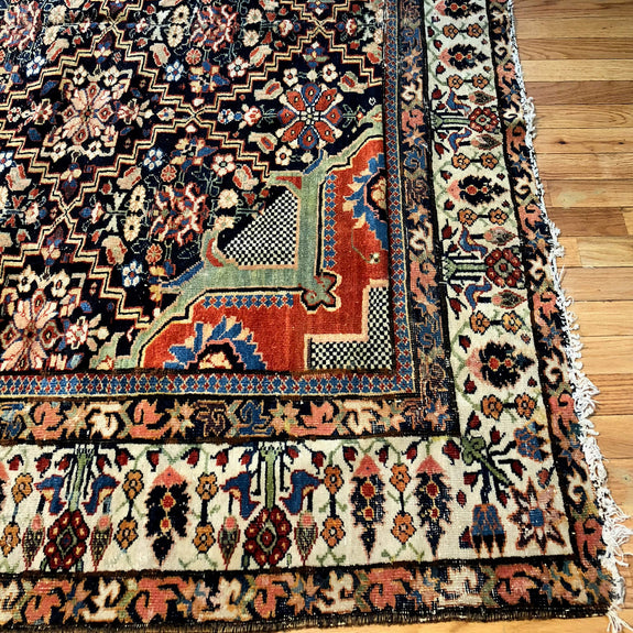 Joshaghan - Authentic Antique Persian Rug