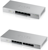 Z-GS1200-8HPv2 Zyxel 8-Port GbE Web Managed PoE Switch