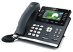 Y-SIP-T46S Yealink Professional Gigabit IP Phone  (with colour display and PoE)