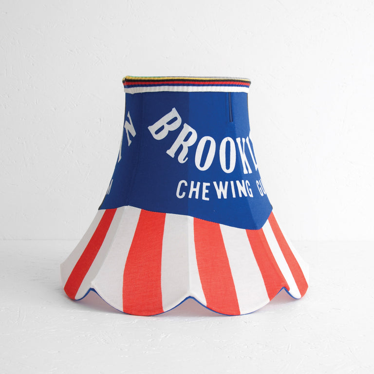Brooklyn Chewing Gum Jersey Lamp Shade