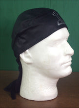 Leather Biker Head-Wrap