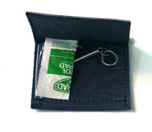 Hearing Aid Battery Leather Pocket Fold